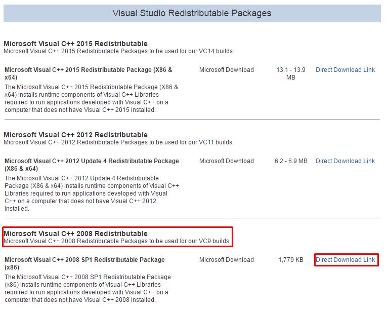 <b>Microsoft</b> <b>Visual</b> C <b>2008</b> <b>Sp</b><b>1</b> <b>Redistributable</b> Package X64…