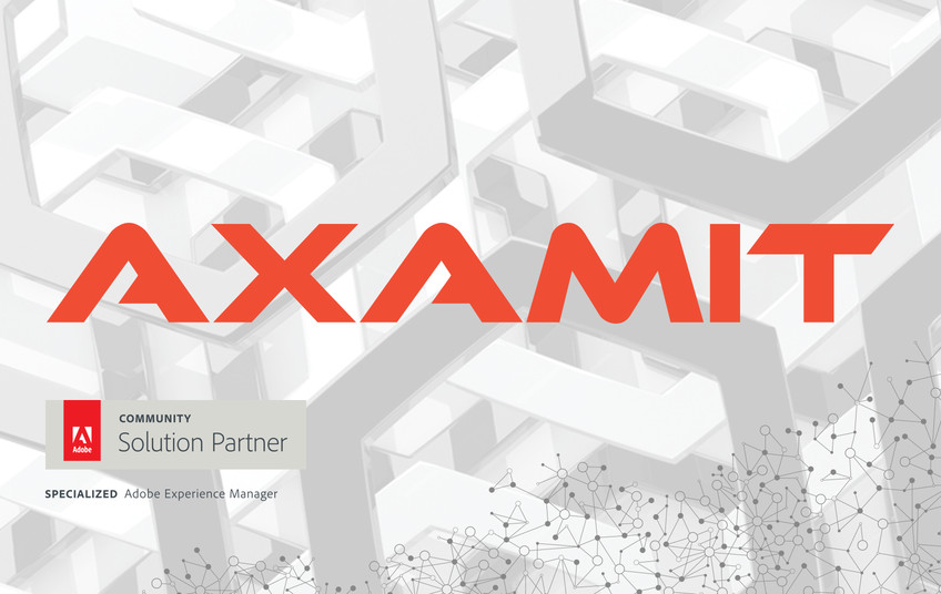 Axamit earns Adobe Experience Manager Specialization status in EMEA