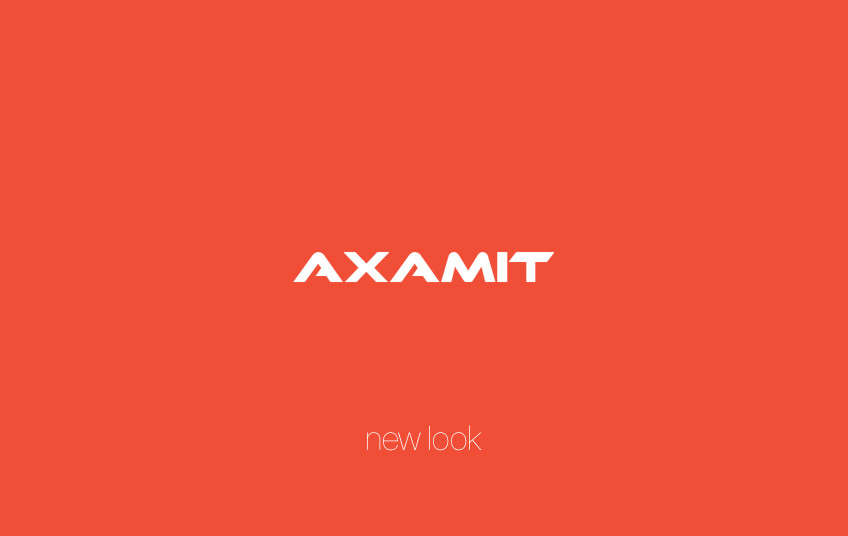 Axamit Unveils Our New Corporate Brand. Three, Two, One, Go!