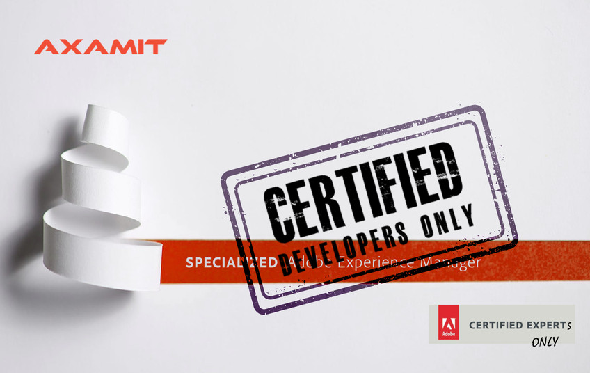 Certified AEM experts only — Axamit | Certified Adobe Experience ...